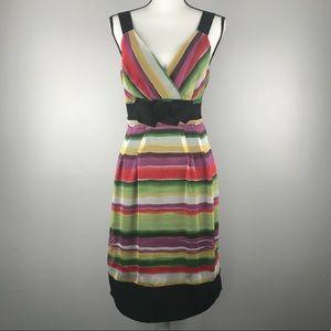 The Limited Event Striped V-Neck Dress